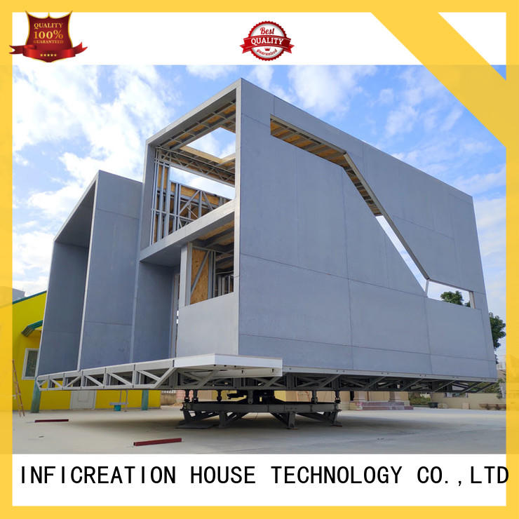 InfiCreation pre fabricated cottages custom for accommodation