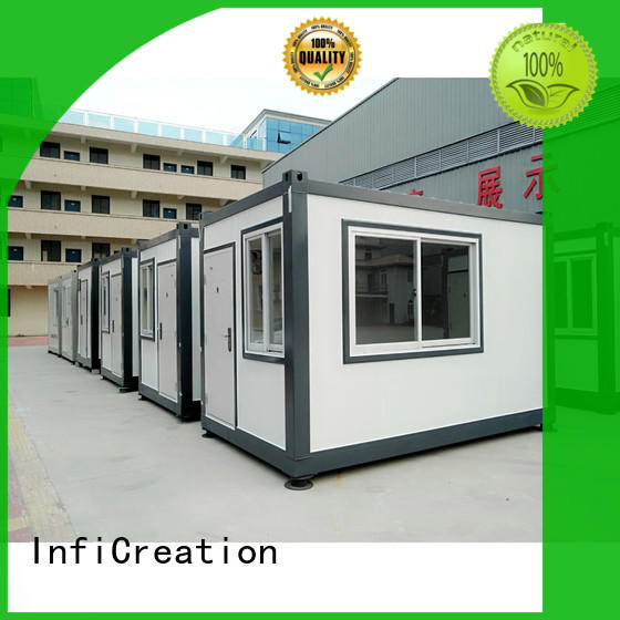 InfiCreation recyclable storage container houses supplier for booth