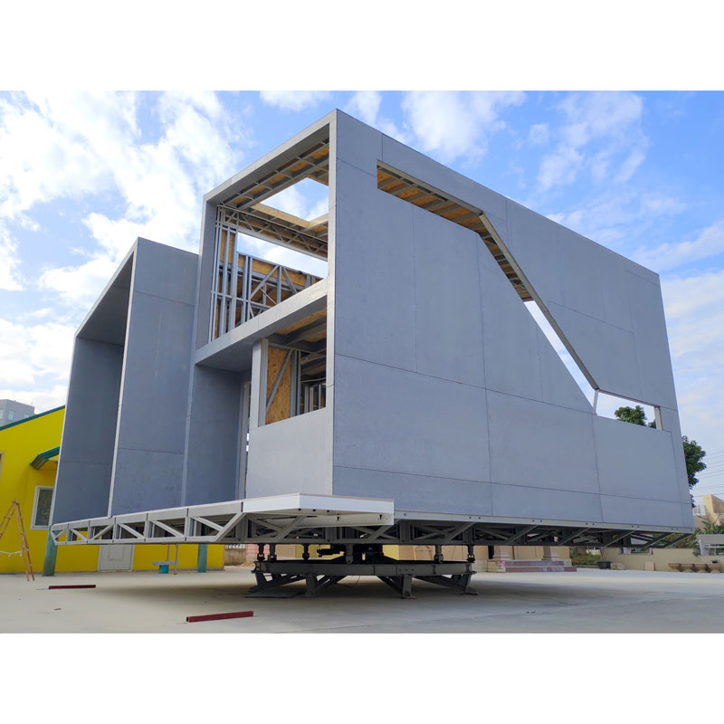 InfiCreation steel prefabricated villa custom for hotel-2
