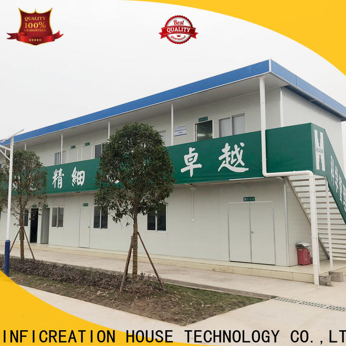 InfiCreation prefab container house manufacturer for carport