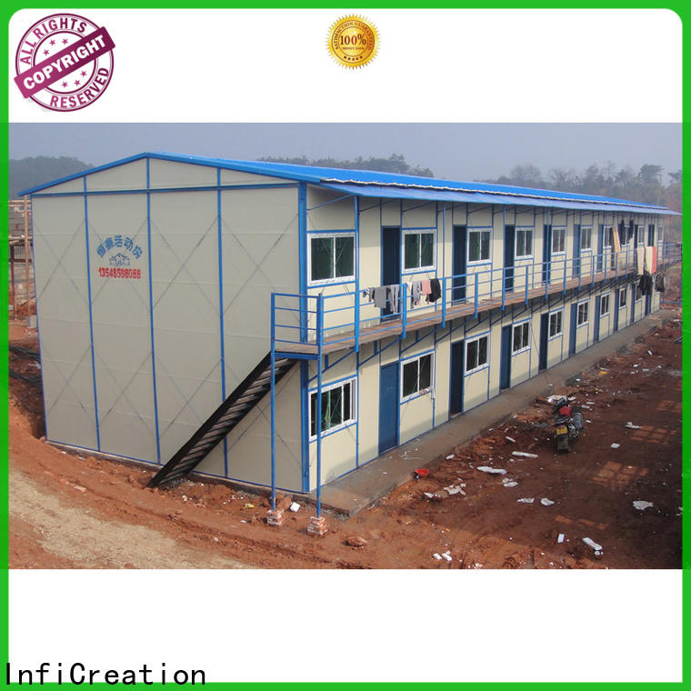 InfiCreation prefabricated k house wholesale for shop