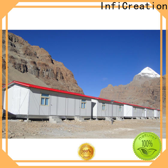 InfiCreation competitive price construction site accommodation supplier for shop