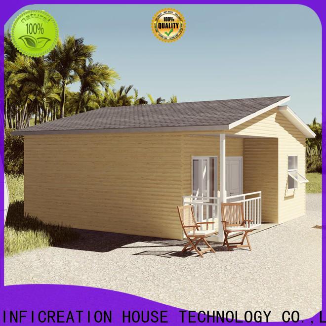 InfiCreation beautiful luxury prefab homes designer for hotel