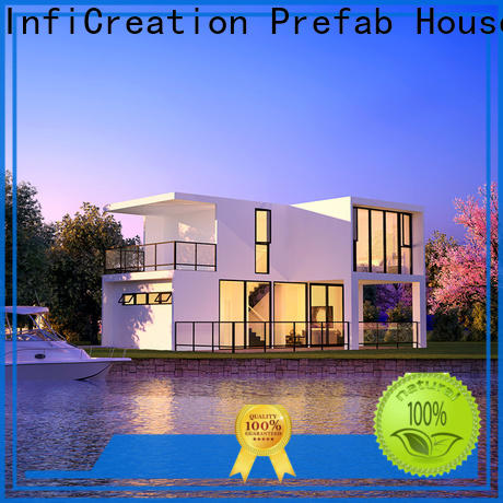 InfiCreation portable modular cottages factory price for hotel