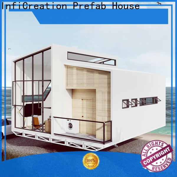 InfiCreation prefab villa factory price for entertainment centers