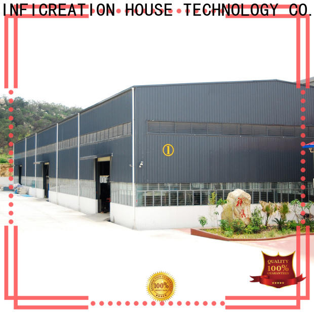 InfiCreation prefab warehouse building supplier for cargo