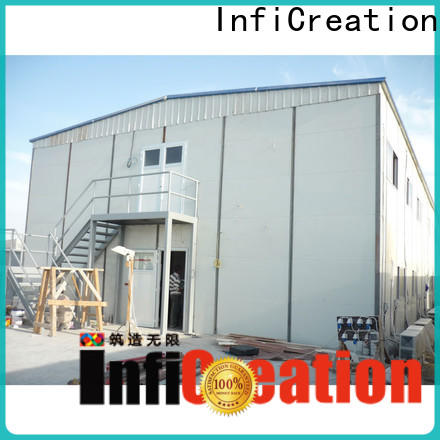 InfiCreation best pre manufactured homes company for toilet