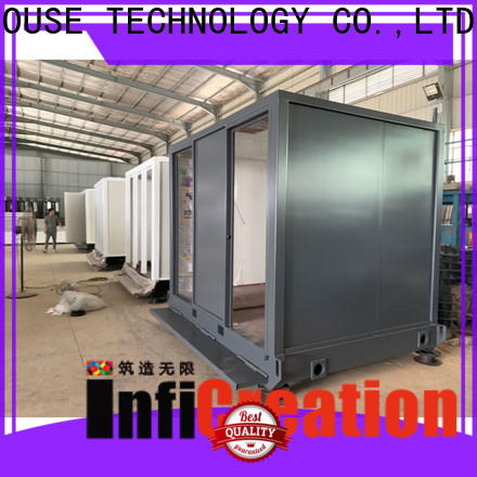 InfiCreation steel prefab storage container homes factory price for accommodation