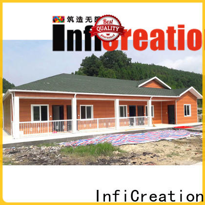 InfiCreation best pre manufactured homes suppliers for accommodation