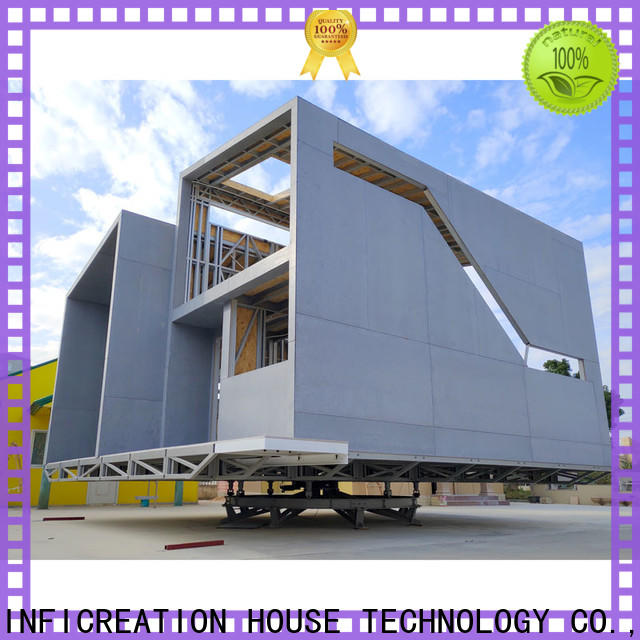 InfiCreation pre manufactured homes factory price for resorts