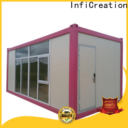 recyclable storage container houses customized for booth