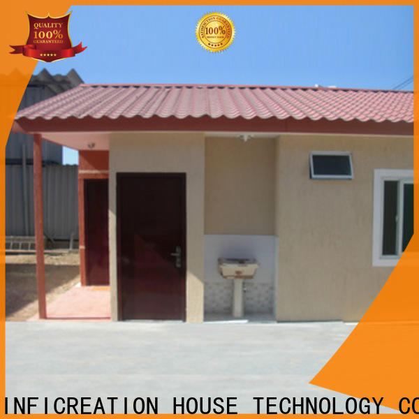 InfiCreation steel storage container homes supplier for accommodation