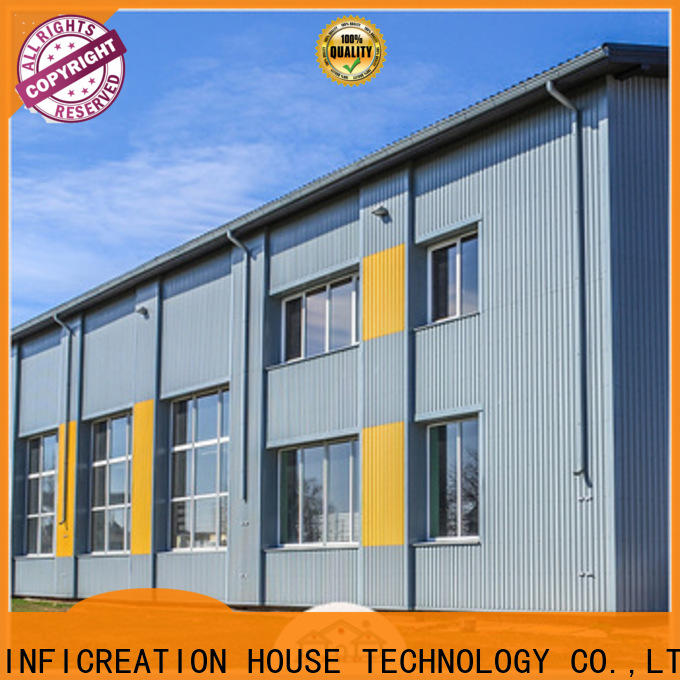 windproof prefabricated warehouse buildings customized for company