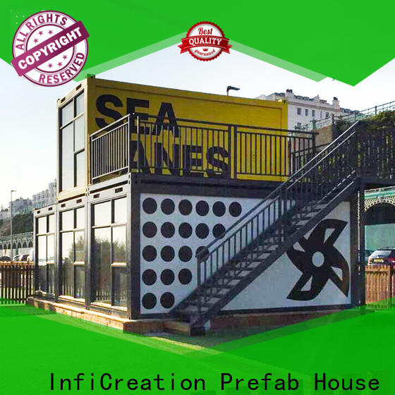 long lasting prefab container house supplier for accommodation