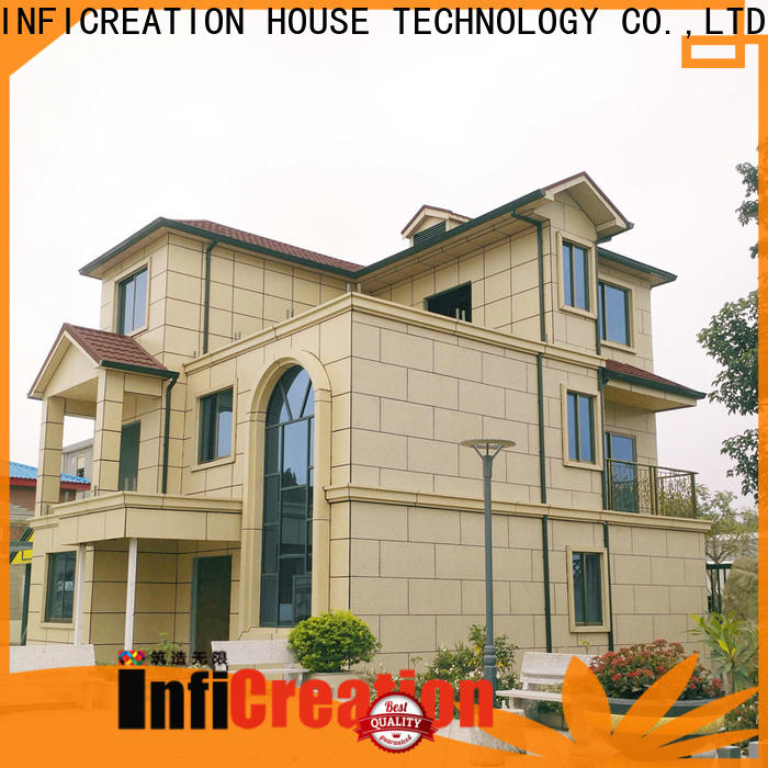 InfiCreation mobile luxury prefabricated homes manufacturer for resorts