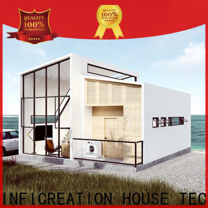 InfiCreation premade cottages factory price for hotel
