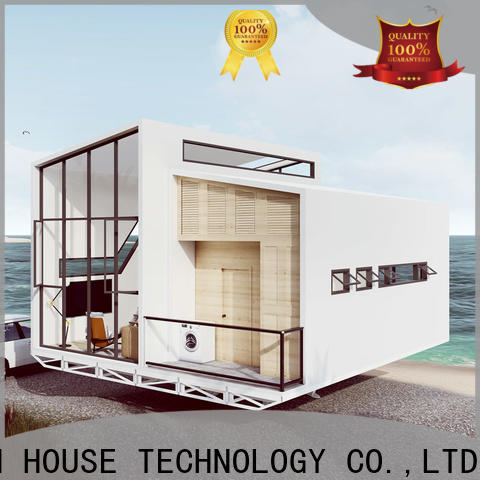 beautiful modular beach cottages manufacturer for entertainment centers