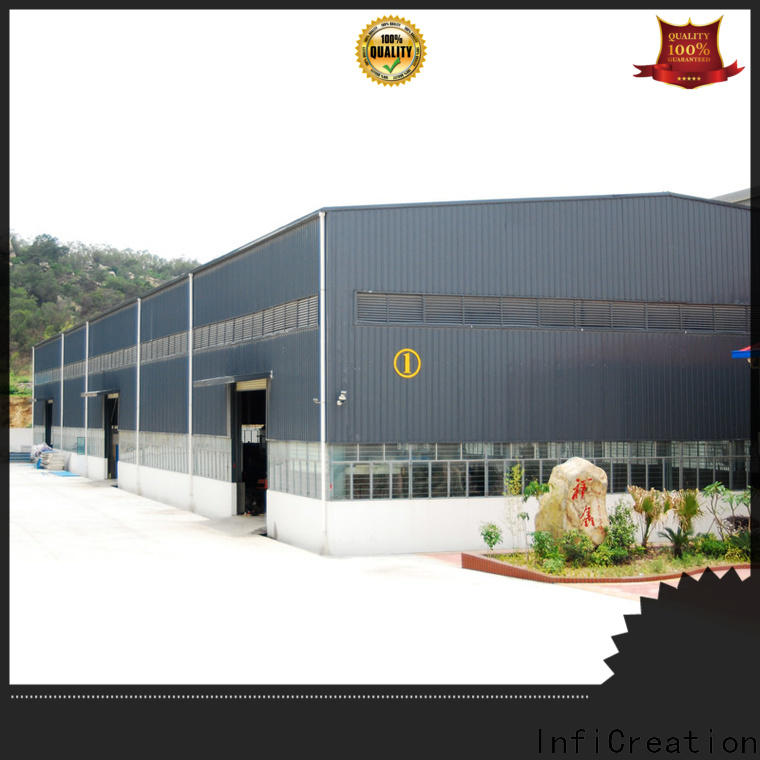InfiCreation prefabricated warehouse manufacturer for cargo