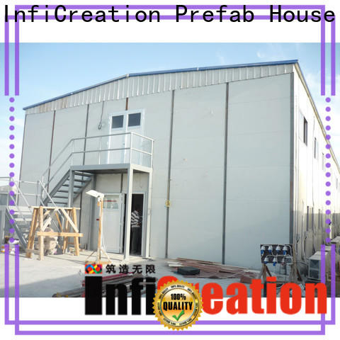 InfiCreation pre manufactured homes company for accommodation
