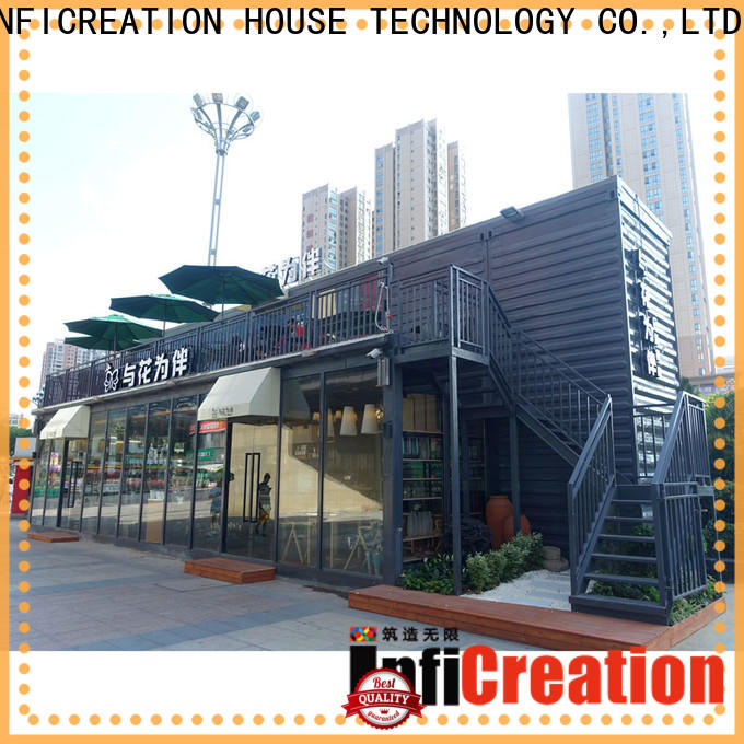 custom pre manufactured homes suppliers for booth