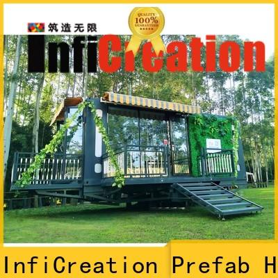 InfiCreation pre built container homes manufacturer for accommodation