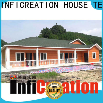 InfiCreation wholesale pre manufactured homes manufacturers for booth