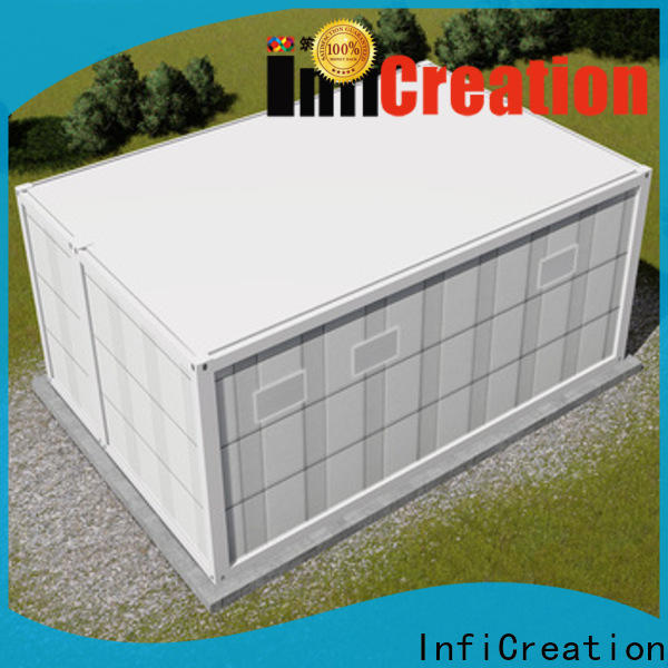 InfiCreation prefab container homes factory for carport