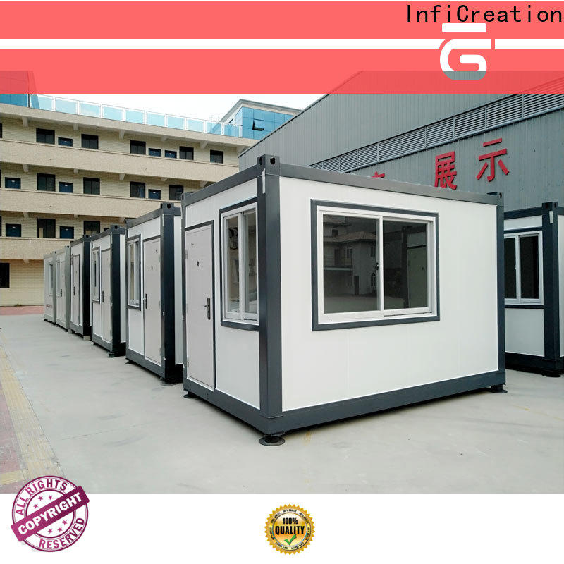 InfiCreation steel storage container homes factory price for accommodation