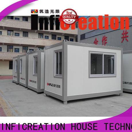InfiCreation modern prefab container homes customized for office