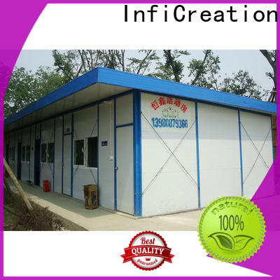 InfiCreation temporary site accommodation custom for shop