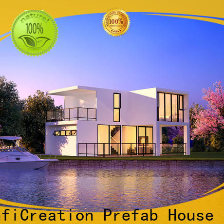 InfiCreation economical prefabricated cottages factory price for hotel