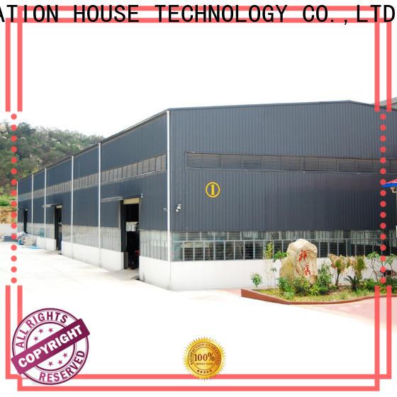 environmental friendly pre built warehouse factory price for cargo