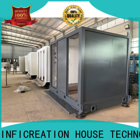 steel prefab storage container homes supplier for office