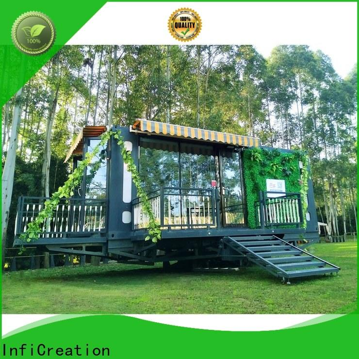 InfiCreation premade container homes factory for office