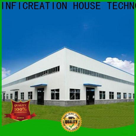 InfiCreation windproof prefabricated warehouse manufacturer for cargo