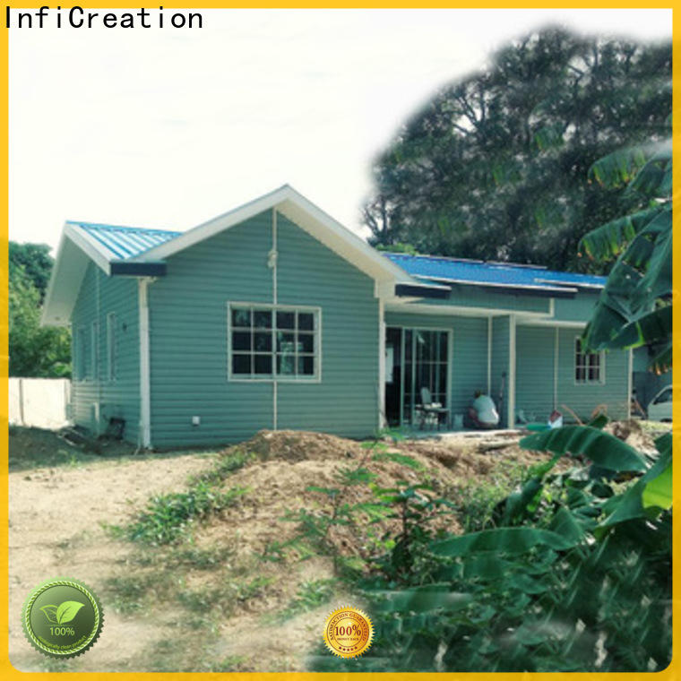 economical modular beach cottages custom for hotel