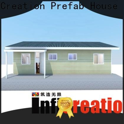 InfiCreation luxury prefabricated homes manufacturer for entertainment centers