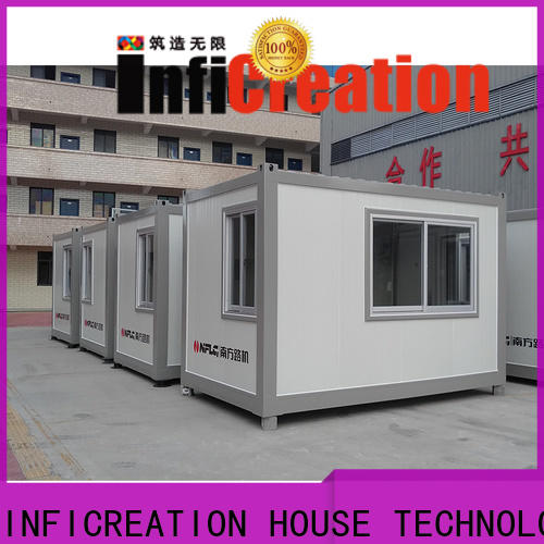 InfiCreation steel cargo container house factory for office