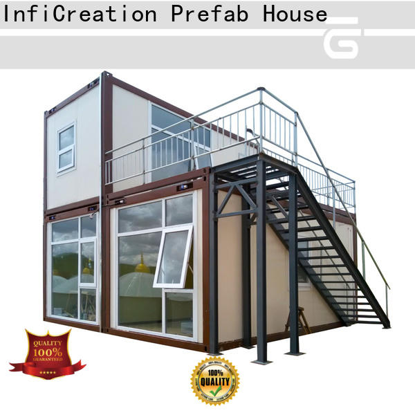 InfiCreation premade container homes factory for toilet