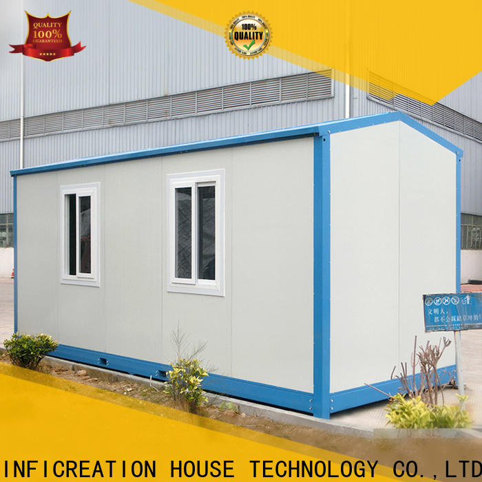 InfiCreation prefab container house factory price for carport