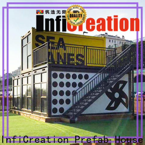 InfiCreation tiny prefab container homes supplier for accommodation