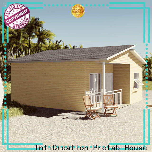 InfiCreation prefabricated villa factory price for resorts