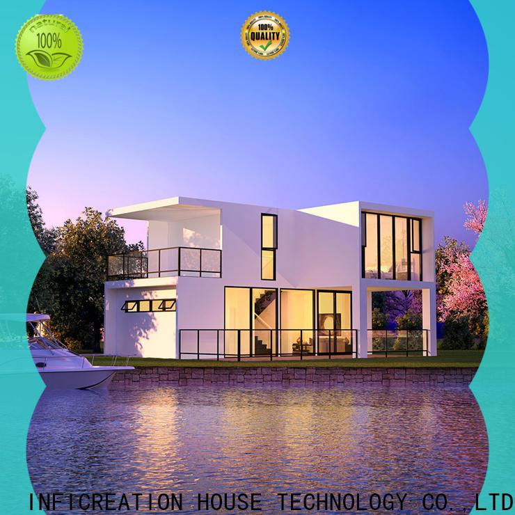 steel prefab manufactured homes designer for accommodation