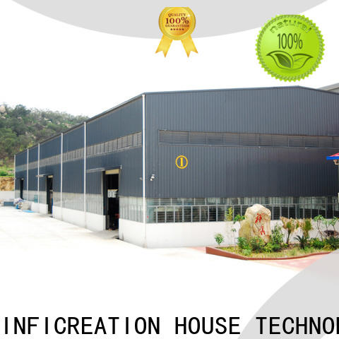InfiCreation environmental friendly fabrication warehouse factory price for company