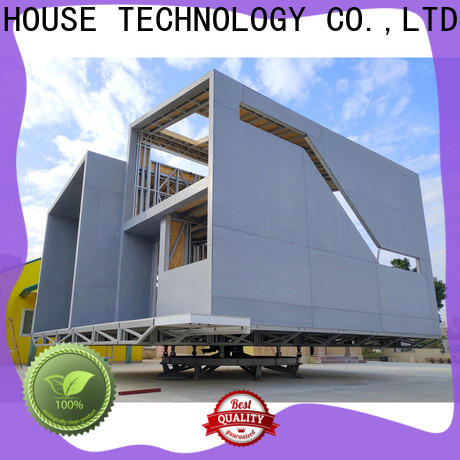 comfortable pre manufactured houses custom for entertainment centers