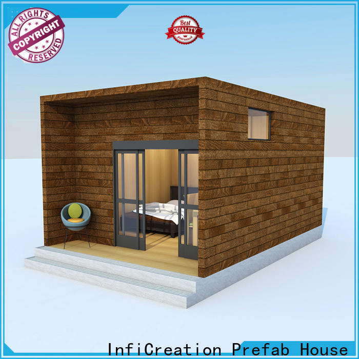 mobile pre manufactured houses factory price for hotel
