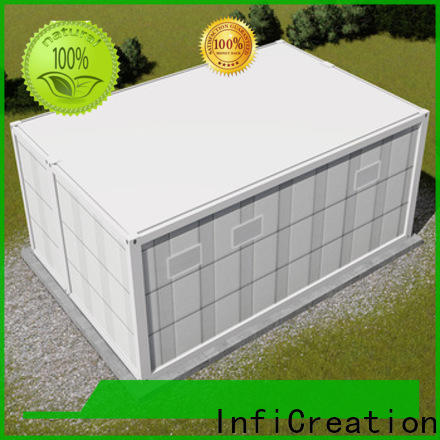 InfiCreation low cost modular container homes customized for accommodation