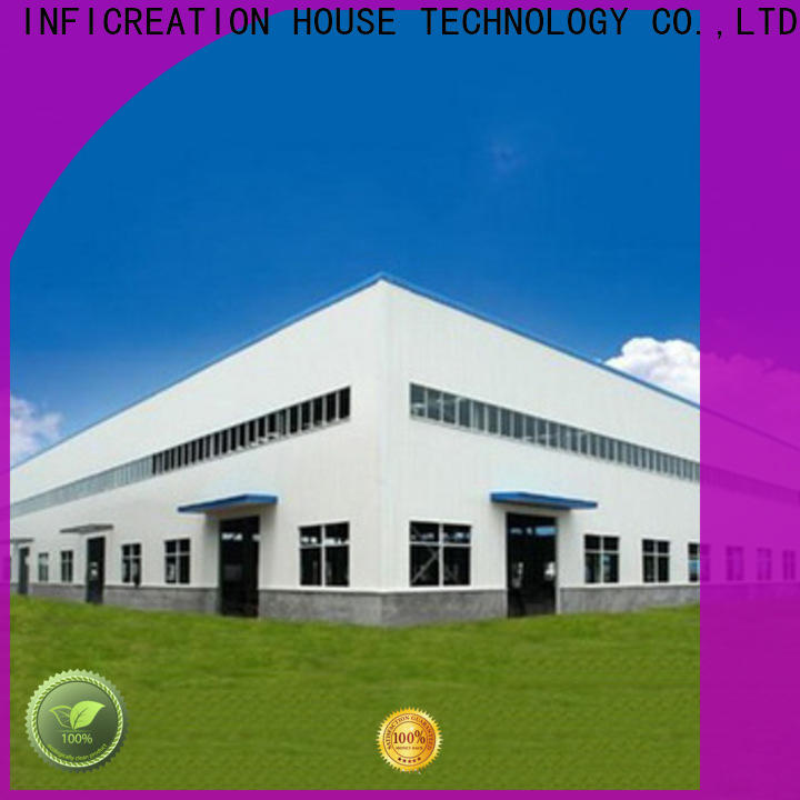 InfiCreation fast assembly premade warehouse manufacturer for company