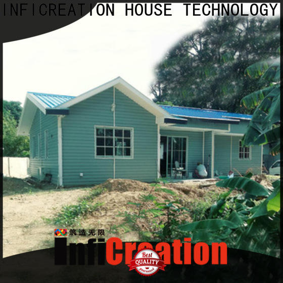 InfiCreation mobile luxury prefabricated homes custom for resorts