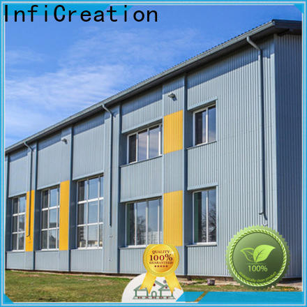 InfiCreation prefabricated steel warehouse factory price for company